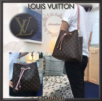 Louis Vuitton(ルイヴィトン) マザーズバッグ 【国内発・追跡付】BAILA6月号表紙〓桐谷さん着ネオ・ノエ