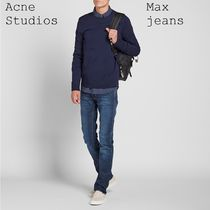 ACNE Max Jeans スリムレッグローウエストテーパードジーンズ2色