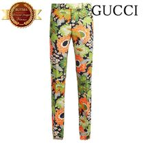 GUCCI グッチ RUNWAY Floral-print trousers