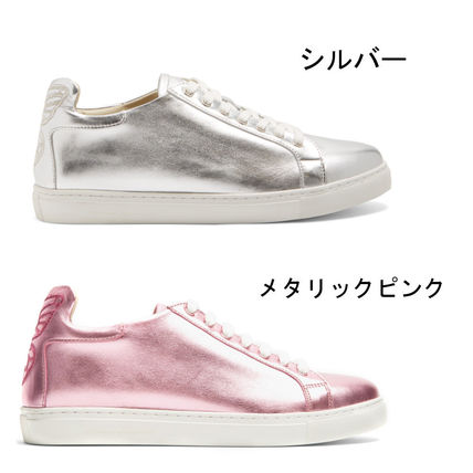 The inspired leather sneakers into Sofia Web star Bibi