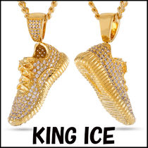 Tyga愛用BR ☆KING ICE☆ 14K Gold Lifestyle Shoe ネックレス