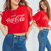 【Urban Outfitters】Enjoyコカコーラ クロップド ロゴTシャツ