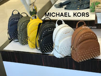Michael Kors★7月新作★ABBEY MD BACKPACK*スタッズ付 5色↑