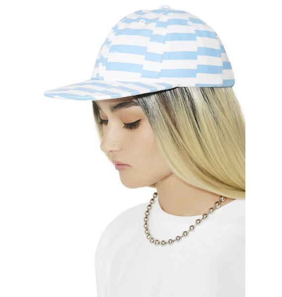 17SS新作*日本未入荷☆HUF☆OFFSET STRIPE 6 PANEL HAT