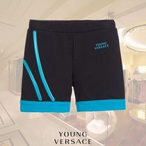 YOUNG VERSACE(ヤングヴェルサーチ) ボトムス YOUNG VERSACE/ベビーボーイズジャージーショーツ Blue