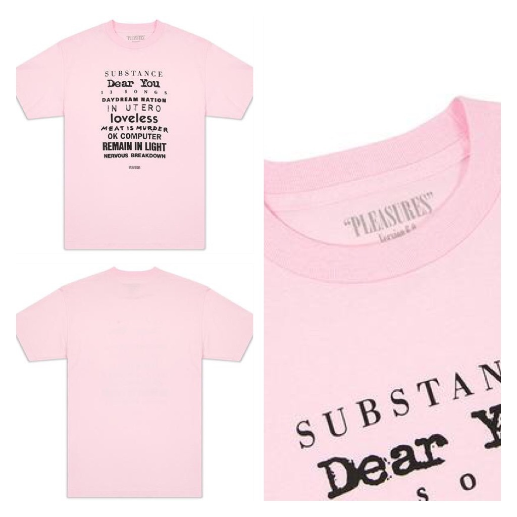 日本未入荷☆「PLEASURES」TITLES TEE