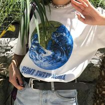 UNIF Clothing(ユニフ) Tシャツ・カットソー 可愛い!!【UNIF】完売確実!! 大人気のHOME SWEET HOME