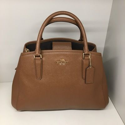 【COACH】人気☆SMALL MARGOT CARRYALL 2way F57527☆Saddle☆