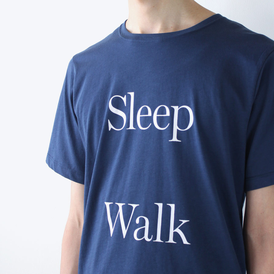 SATURDAYS NEW YORK CITY SLEEPY WALK T-SHIRT/BLUE サタデーズ