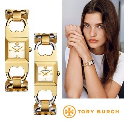 17FW新作 Tory Burch★トリーバーチ DOUBLE-T LINK WATCH
