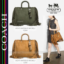 COACH★スエード製ローグ☆ROGUE CERVO SUEDE WITH FRINGE 86824
