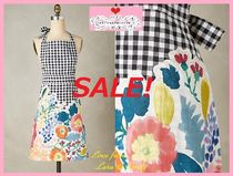 最終SALE☆即納★在庫限り【Anthro】Bearing Flowers Apron