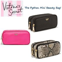 VICTORIA'S SECRET★ パイソン柄ポーチ Python Mini Beauty Bag