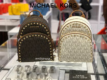 Michael Kors★7月新作★ABBEY MD BACKPACK*スタッズ付 2色↑