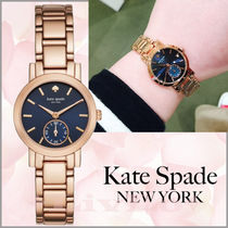 【Kate Spade】日本国内完売!Rose Gold & Navy Gramercy Mini