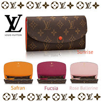 LOUIS VUITTON☆モノグラムPORTEFEUILLE EMILIE☆2つ折り長財布