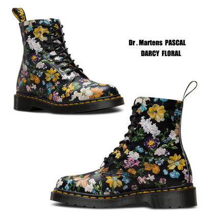 Dr Martens ショートブーツ・ブーティ Dr Martens★PASCAL DARCY FLORAL★ブーツ★花柄★ボタニカル