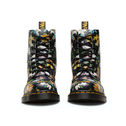 Dr Martens ショートブーツ・ブーティ Dr Martens★PASCAL DARCY FLORAL★ブーツ★花柄★ボタニカル(3)