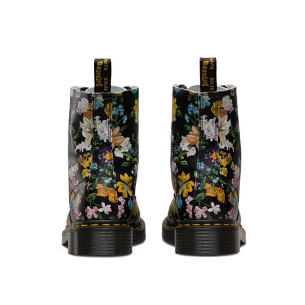 Dr Martens ショートブーツ・ブーティ Dr Martens★PASCAL DARCY FLORAL★ブーツ★花柄★ボタニカル(4)