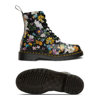 Dr Martens ショートブーツ・ブーティ Dr Martens★PASCAL DARCY FLORAL★ブーツ★花柄★ボタニカル(5)