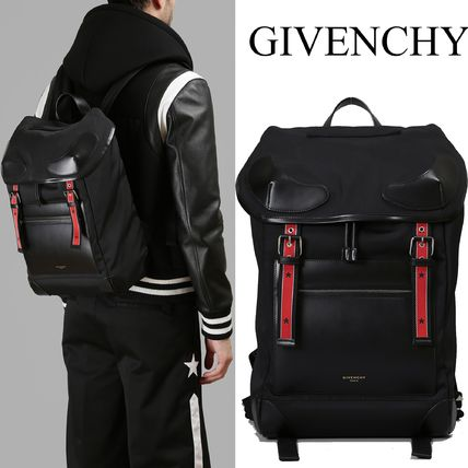 GIVENCHY ナイロン ライダーバックパック  BJ0500470