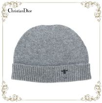 【17AW!新作!】★Dior★D-Bee embroidered knitted hat