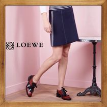 ★★★LOEWE《 ロエベ 》KNIT SKIRT WITH STRIPED送料込み★★★