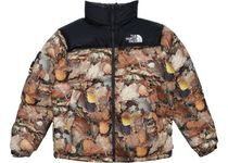 【16AW】Lサイズ★Supreme The North Face Nuptse Jacket Leaves