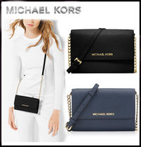 MICHAEL KORS ★JET SET LARGE PHONE CROSSBODY 国内発送!