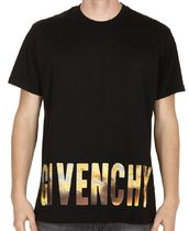 【関税負担】 GIVENCHY GOLD PRINTED T-SHIRT