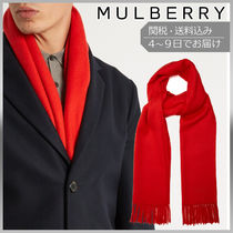 【VIPセール】Mulberry★Fringed wool スカーフ