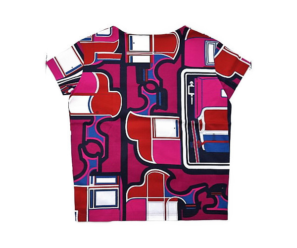 HERMES レディース《Le Coupes》 Tシャツ 新品 記載 #38/国内9号