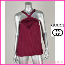 GUCCI★グッチ★素敵!BERRY PLEATED JERSEY TOP