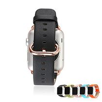 Apple Watch Band,iSank Premium Leather Replacement Strap