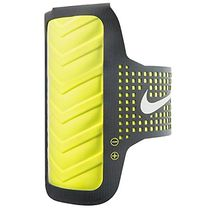 Nike Women's Distance Arm Band for iPhone - Anthracite/Volt