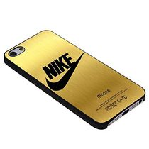 Vicky.Zheng Nike Gold for Iphone Case (iPhone 7 4.7 Black)
