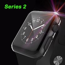 [2 Pack] PC iWatch Series 2 Case, Fivefish iPhone Watch