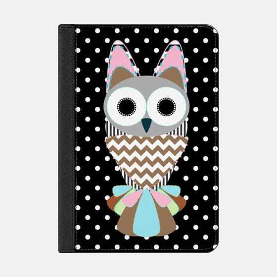 ★Casetify★iPadケース:CUTE PATTERN OBSESSED OWL