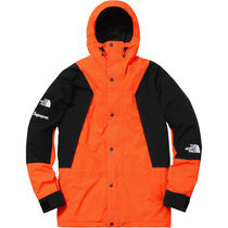 Supreme × The North Face Light Mountain Jacket Power Orange