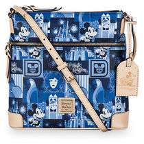 Magic Kingdom 45th Anniversary Leather Letter Carrier Bag