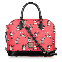 Mickey and Minnie Mouse Retro Satchel by Dooney & Bourke -
