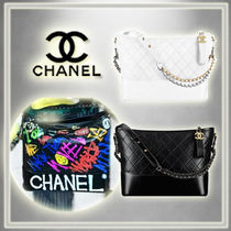 2017SS☆CHANEL☆GABRIELLE/G-Dragon愛用 ホーボーバッグ(2色)