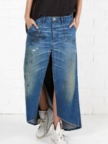 NEW!追跡補償付☆大人気!MRS CARTER SKIRT LONG DENIM SKIRT