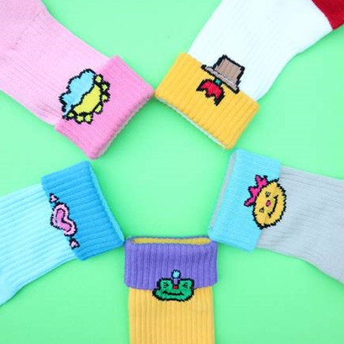 ☆SECOND UNIQUE NAME☆ SUN SOCKS STRAP 5色