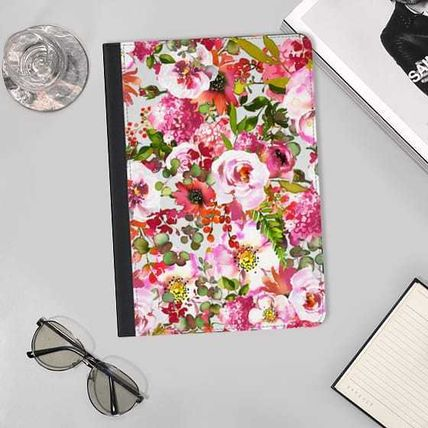 Casetify iPad・タブレットケース ★Casetify★iPadケース:CHIC FLORAL PATTERN PINK ORANGE PAS(2)