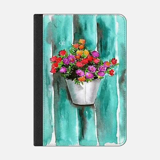 ★Casetify★iPadケース:WATERCOLOR FLOWERS