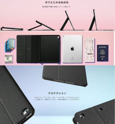 Casetify iPad・タブレットケース ★Casetify★iPadケース:BLACK AND WHITE TANGLE DRAWING FL(9)