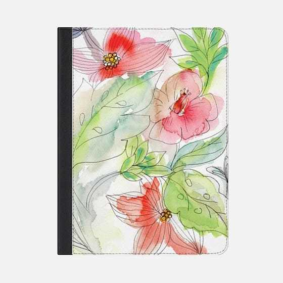 ★Casetify★iPadケース:MY TROPICAL FLOWERS
