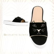 ★関税負担★CHARLOTTE OLYMPIA★SALSA FEATHER SUEDE サンダル