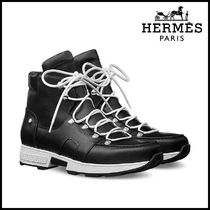 【HERMES】エルメス Pionnier Calfskin ankle boots